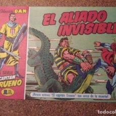 Tebeos: COMIC DEL CAPITAN TRUENO COLECCION DAN EN EL ALIADO INVISIBLE Nº 8. Lote 224357552