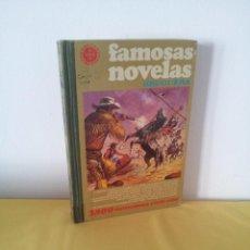 Tebeos: FAMOSAS NOVELAS - VOLUMEN XVI - EDITORIAL BRUGUERA 1ª EDICIÓN MAYO DE 1979. Lote 224358308