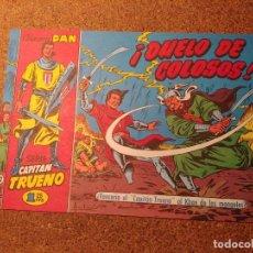 Tebeos: COMIC DEL CAPITAN TRUENO COLECCION DAN EN DUELO DE COLOSOS Nº 22. Lote 224361777