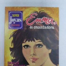 Tebeos: SUPER JOYAS FEMENINAS - EMMA ES ENCANTADORA, Nº 29 - 1ª EDICIÓN, BRUEGUERA, 1983. Lote 224362130