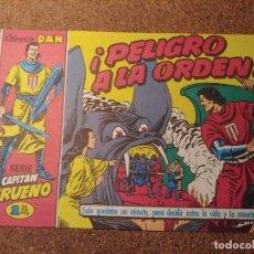Tebeos: COMIC DEL CAPITAN TRUENO COLECCION DAN EN PELIGRO A LA ORDEN Nº 24. Lote 224363281