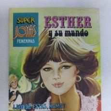 Tebeos: SUPER JOYAS FEMENINAS - ESTHER Y SU MUNDO, Nº 9 - 2ª EDICIÓN, ED. BRUGUERA, 1984. Lote 224365398