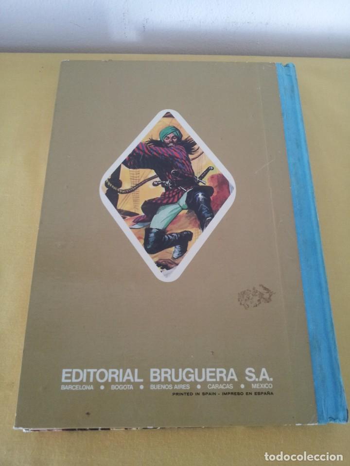 Tebeos: GRANDES OBRAS ILUSTRADAS DE EMILIO SALGARI - TOMO 3 - EDITORIAL BRUGUERA 1ª EDICIÓN 1979 - Foto 3 - 224371670