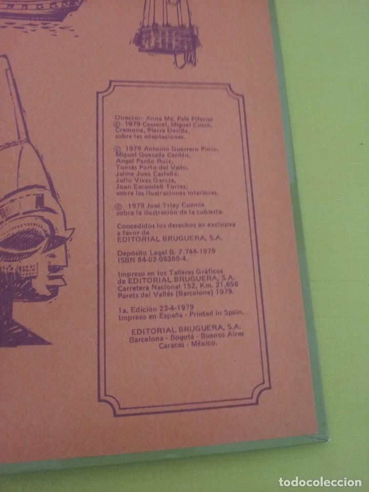 Tebeos: GRANDES OBRAS ILUSTRADAS DE EMILIO SALGARI - TOMO 3 - EDITORIAL BRUGUERA 1ª EDICIÓN 1979 - Foto 4 - 224371670