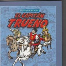 Tebeos: VOLUMEN 21 LAS AVENTURAS DE EL CAPITAN TRUENO. PLANETA. VICTOR MORA. 2009. Lote 224392783