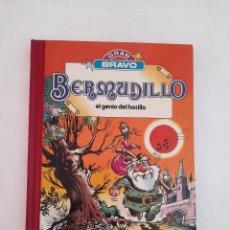 Tebeos: BERMUDILLO Nº 1 GRAN BRAVO BRUGUERA 1982 EL GENIO DEL HATILLO TAPA DURA. Lote 224423220
