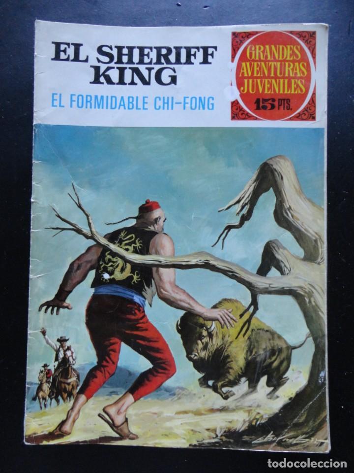 GRANDES AVENTURAS JUVENILES - EL SHERIFF KING - Nº-26 (Tebeos y Comics - Bruguera - Sheriff King)
