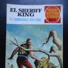 Tebeos: GRANDES AVENTURAS JUVENILES - EL SHERIFF KING - Nº-26. Lote 224427173