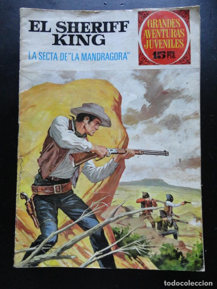 GRANDES AVENTURAS JUVENILES - EL SHERIFF KING - Nº-30 (Tebeos y Comics - Bruguera - Sheriff King)