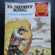 Tebeos: GRANDES AVENTURAS JUVENILES - EL SHERIFF KING - Nº-30. Lote 224427310