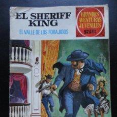 BDs: GRANDES AVENTURAS JUVENILES - EL SHERIFF KING - Nº-39. Lote 224427450