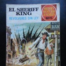 BDs: GRANDES AVENTURAS JUVENILES - EL SHERIFF KING - Nº-59. Lote 224427553