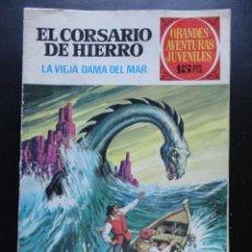 Tebeos: GRANDES AVENTURAS JUVENILES - EL CORSARIO DE HIERRO - Nº-3. Lote 224427980