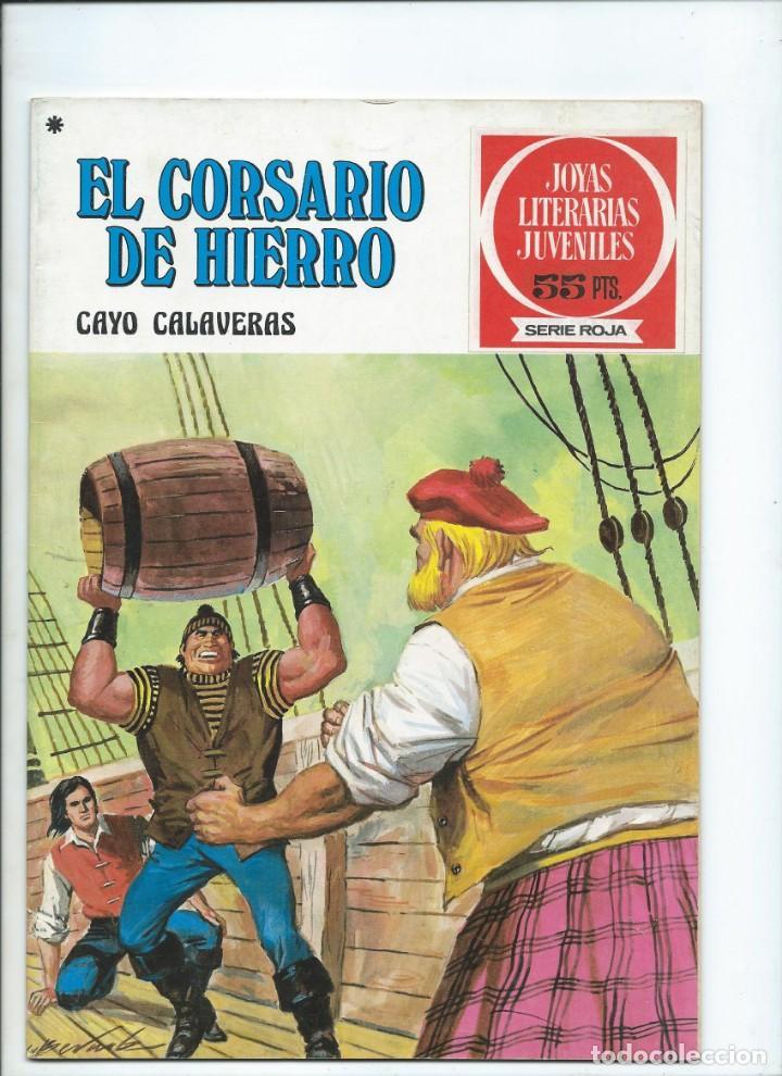 EL CORSARIO DE HIERRO CAYO CALAVERAS Nº 33 SERIE ROJA (Tebeos y Comics - Bruguera - Corsario de Hierro)