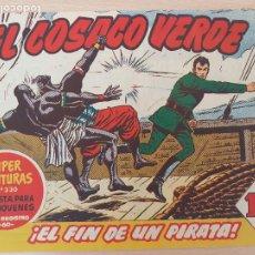 Tebeos: EL COSACO VERDE Nº 17. ORIGINAL. BRUGUERA. Lote 224513110