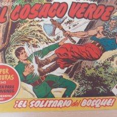 Tebeos: EL COSACO VERDE Nº 21. ORIGINAL. BRUGUERA. Lote 224513296