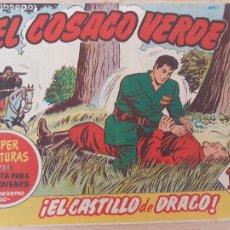 Tebeos: EL COSACO VERDE Nº 22. ORIGINAL. BRUGUERA. Lote 224513375