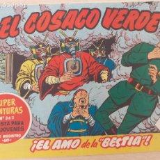 Tebeos: EL COSACO VERDE Nº 28. ORIGINAL. BRUGUERA. Lote 224513595
