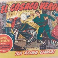Tebeos: EL COSACO VERDE Nº 38. ORIGINAL. BRUGUERA. Lote 224513955