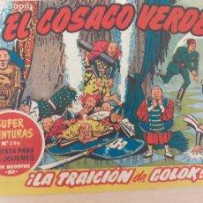 Tebeos: EL COSACO VERDE Nº 39. ORIGINAL. BRUGUERA. Lote 224514031