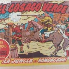 Tebeos: EL COSACO VERDE Nº 44. ORIGINAL. BRUGUERA. Lote 224514418