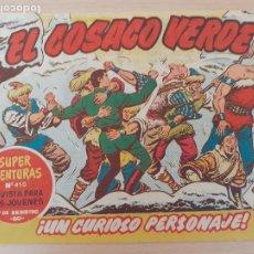 Tebeos: EL COSACO VERDE Nº 57. ORIGINAL. BRUGUERA. Lote 224514627