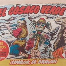 Tebeos: EL COSACO VERDE Nº 58. ORIGINAL. BRUGUERA. Lote 224514715