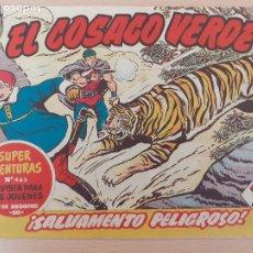 Tebeos: EL COSACO VERDE Nº 62. ORIGINAL. BRUGUERA. Lote 224514791