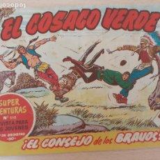 Tebeos: EL COSACO VERDE Nº 77. ORIGINAL. BRUGUERA. Lote 224515066