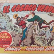 Tebeos: EL COSACO VERDE Nº 85. ORIGINAL. BRUGUERA. Lote 224515221