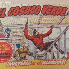 BDs: EL COSACO VERDE Nº 87. ORIGINAL. BRUGUERA. Lote 224515302
