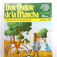 Tebeos: DON QUIJOTE DE LA MANCHA EPISODIO Nº 35 - EL RESCATE DE SANCHO PANZA - BRUGUERA (SIN USAR). Lote 224586681