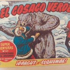 Tebeos: EL COSACO VERDE Nº 94. ORIGINAL. BRUGUERA. Lote 224635688