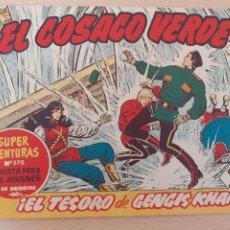 Tebeos: EL COSACO VERDE Nº 97. ORIGINAL. BRUGUERA. Lote 224635925