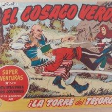 BDs: EL COSACO VERDE Nº 100. ORIGINAL. BRUGUERA. Lote 224636258