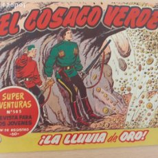Tebeos: EL COSACO VERDE Nº 102. ORIGINAL. BRUGUERA. Lote 224636438