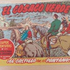 Tebeos: EL COSACO VERDE Nº 104. ORIGINAL. BRUGUERA. Lote 224636677
