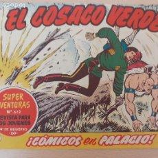 Tebeos: EL COSACO VERDE Nº 111. ORIGINAL. BRUGUERA. Lote 224637177
