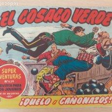 BDs: EL COSACO VERDE Nº 120. ORIGINAL. BRUGUERA. Lote 224637962
