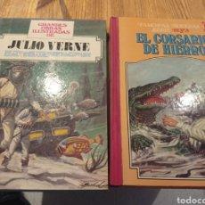 Tebeos: LOTE DE CROSARIO DE HIERRO Y JULIO VERNE. Lote 224714932