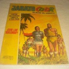 Tebeos: JABATO ALBUM COLOR N. 38 . CON LOS BUKAMOS ! . 1973. Lote 224823432