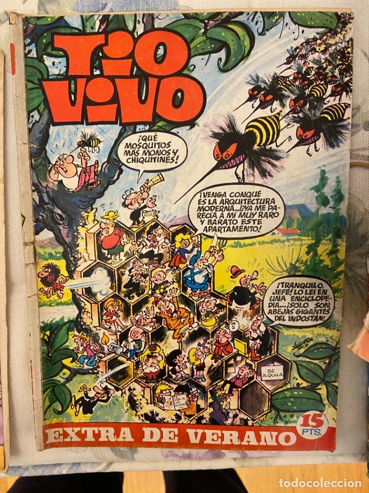 TIO VIVO EXTRA DE VERANO 15 PTS (Tebeos y Comics - Bruguera - Tio Vivo)