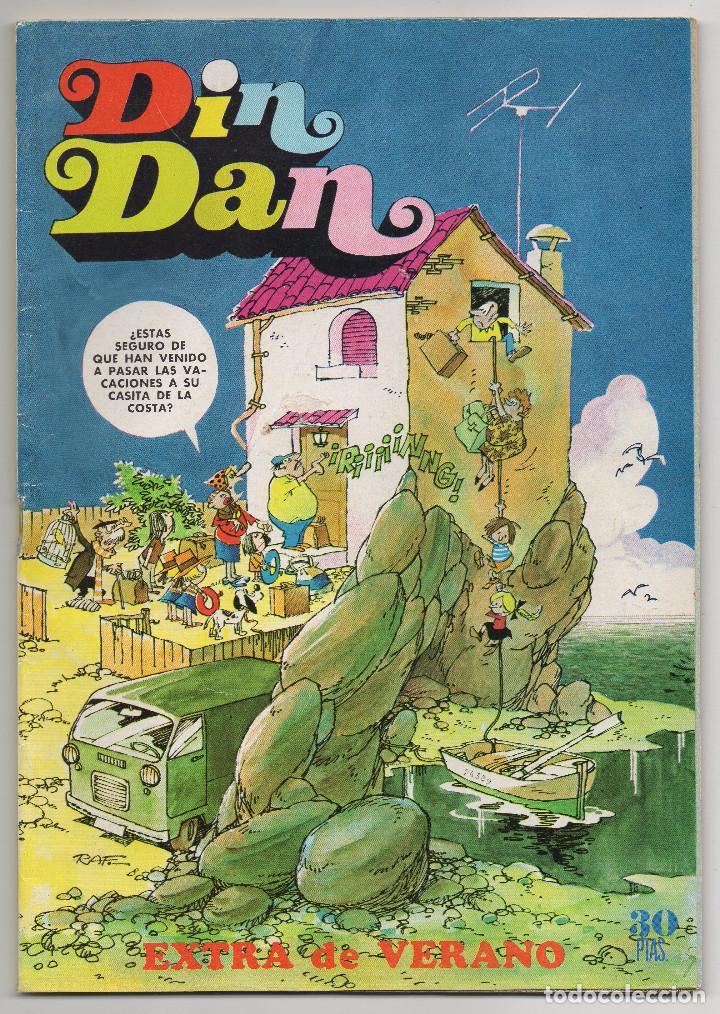 DIN DAN EXTRA VERANO (BRUGUERA 1974) (Tebeos y Comics - Bruguera - Din Dan)