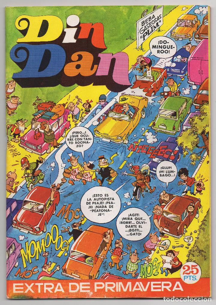 DIN DAN EXTRA PRIMAVERA (BRUGUERA 1973) (Tebeos y Comics - Bruguera - Din Dan)