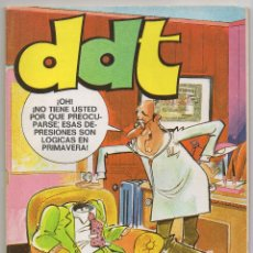 Giornalini: DDT EXTRA PRIMAVERA (BRUGUERA 1973) CON ELODIE D'AVRAY REDACTORA Y BRUNO BRAZIL.. Lote 225244670