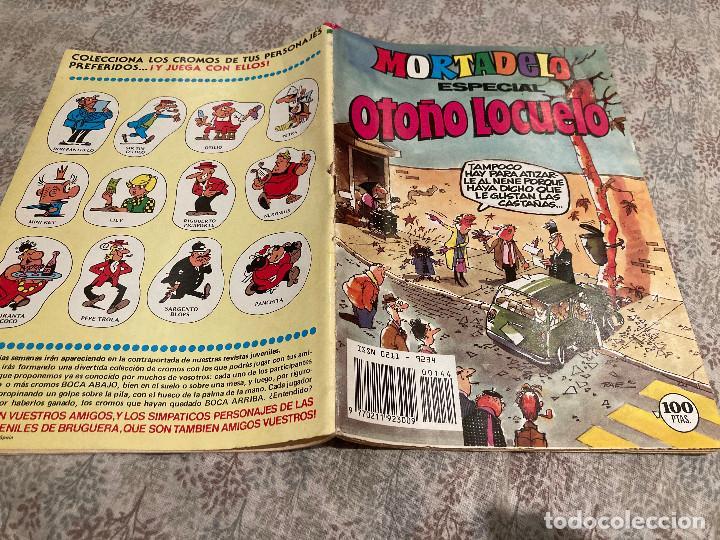 MORTADELO ESPECIAL- Nº 144 -ESPECIAL OTOÑO LOCUELO-HERMANN-JUAN BOIX-EDITORIAL BRUGUERA 1982 (Tebeos y Comics - Bruguera - Mortadelo)