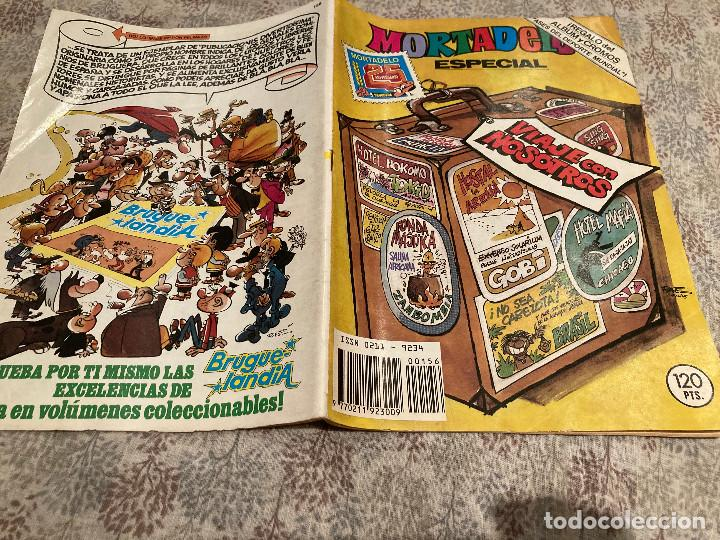 MORTADELO ESPECIAL VIAJE CON NOSOTROS Nº156 CONSERVA LOS CROMOS EDITORIAL BRUGUERA 1983 (Tebeos y Comics - Bruguera - Mortadelo)