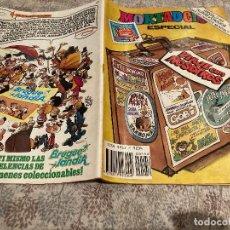 Tebeos: MORTADELO ESPECIAL VIAJE CON NOSOTROS Nº156 CONSERVA LOS CROMOS EDITORIAL BRUGUERA 1983. Lote 225314981