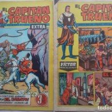 Tebeos: EL CAPITAN TRUENO EXTRA NºS 199 Y 201 (1963). Lote 225323830