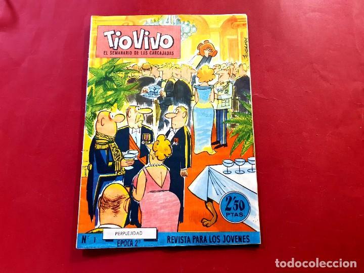 TIO VIVO Nº 1 -ÉPOCA 2ª. EDITORIAL BRUGUERA (Tebeos y Comics - Bruguera - Tio Vivo)